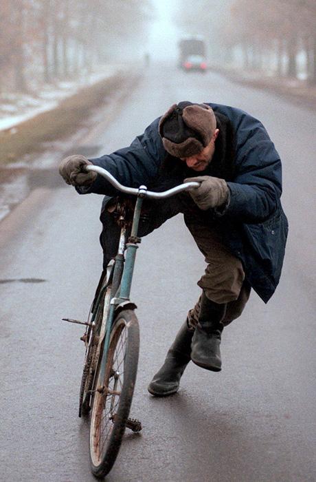 Krzysztof Miller Pijany rowerzysta